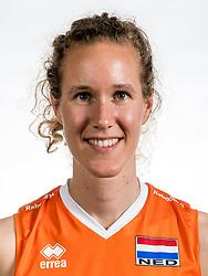 22-05-2017 NED: Nederlands volleybalteam vrouwen, Utrecht<br /> Photoshoot met Oranje vrouwen seizoen 2017 / Nicole Koolhaas #22