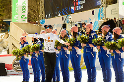 March 23, 2019 - Planica, Slovenia - Robert Kranjec of Slovenia engng his career during the team competition at Planica FIS Ski Jumping World Cup finals  on March 23, 2019 in Planica, Slovenia. (Credit Image: © Rok Rakun/Pacific Press via ZUMA Wire)