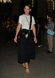 Katie Holmes seen leaving Dior Dinner in Paris <br /><br />3 July 2018.<br /><br />Please byline: PalaceLee/Vantagenews.com