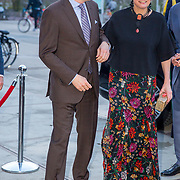 NLD/Amsterdam/20180412 - Prins Constantijn en Prinses Laurentien aanwezig bij uitreiking World Press Photo of the Year, Prins Constantijn en Prinses Laurentien