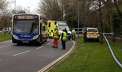 Thursday 22nd April 2016 Police  will use CCTV footage from a bus which hit a woman to help with their investigation.<br /> <br /> <br /> Officers in the case, in which a 59-year-old from Portsmouth suffered serious injuries, will use the tapes from the Stagecoach single-decker as part of their bid to work out what happened.<br /> <br /> <br /> <br /> The woman involved remains in hospital with head and leg injuries after the accident in Copnor Road, Hilsea, just before 5pm yesterday.<br /> <br /> <br /> Acting Sergeant Jim Chapman  said investigators believed the pedestrian was hit after going to cross the road when a van, pulling out of St Barbara Way, slowed down to let her go.<br /> <br /> He said the police believed that the driver of the bus – which was heading north in the right-hand lane ready to turn right into Norway Road at the nearby set of traffic lights – did not see the woman as she stepped into the road as she was obscured by the van.<br /> <br /> Acting Sergeant Chapman said: 'The Stagecoach buses have CCTV cameras on the outside. We have those tapes and will be using them to help with the investigation and to see if we can work out exactly what happened.'<br /> <br /> He added the woman's injuries were serious enough that she had to be flown to Southampton General Hospital by air ambulance.<br /> <br /> Other emergency services were called to the incident and the road was closed for most of yesterday evening as investigations continued.<br /> <br /> <br /> Acting Sergeant Chapman added: 'We will be checking the bus to ensure it is in working order with no mechanical or maintenance faults.<br /> <br /> 'Road checks were also carried out so we could get as much information as possible.'<br /> <br /> People living on Copnor Road said they were shocked by what they saw.<br /> <br /> <br /> @UKNIP