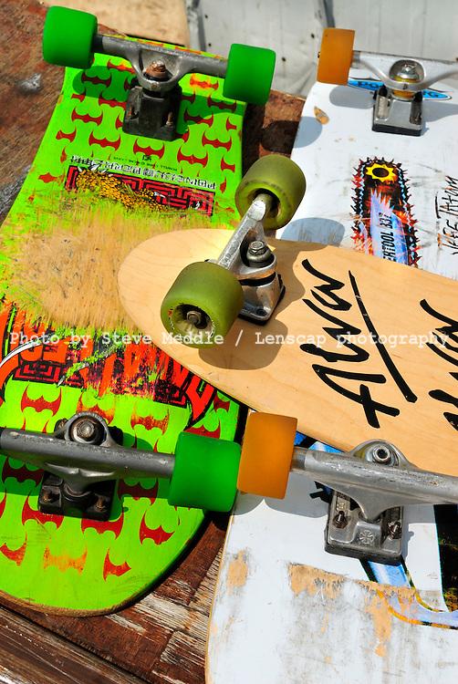 Old Skateboards - August 2009