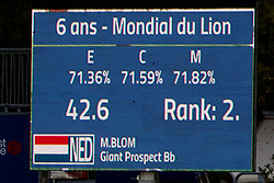 Blom Merel, NED, Giant Prospect BB<br /> Mondial du Lion - Le Lion d'Angers 2017<br /> © Dirk Caremans<br /> 19/10/2017