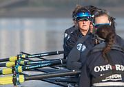 Putney, London,  Tideway Week, Championship Course. River Thames, <br /> <br /> Tuesday  28/03/2017<br /> [Mandatory Credit; Credit: Peter Spurrier/Intersport Images.com ]<br />  <br /> <br /> OUWBC. 6: Chloe Laverack – USA,