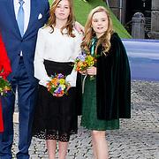 NLD/Groningen/20180427 - Koningsdag Groningen 2018, Koning Willem Alexander, Prinses Alexia, Prinses Ariane