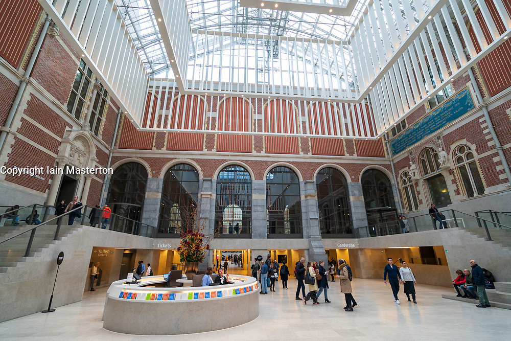 Rijksmuseum in Amsterdam, The Netherlands