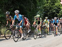 06.07.2015, Litschau, AUT, Österreich Radrundfahrt, 2. Etappe, Litschau nach Grieskirchen, im Bild Gregor Mühlberger (AUT, Team Felbermayr Simplon) // Gregor Mühlberger of Austria during the Tour of Austria, 2nd Stage, from Litschau to Grieskirchens, Litschau, Austria on 2015/07/06. EXPA Pictures © 2015, PhotoCredit: EXPA/ Reinhard Eisenbauer