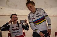 2018 UCI BMX Supercross<br /> Round 7 Santiago Del Estero (Argentina)<br /> Elite Women<br /> Practice<br /> #1 (SMULDERS Laura) NED<br /> #2 (SMULDERS Merel) NED