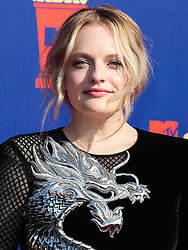 SANTA MONICA, LOS ANGELES, CALIFORNIA, USA - JUNE 15: 2019 MTV Movie And TV Awards held at Barker Hangar on June 15, 2019 in Santa Monica, Los Angeles, California, United States. 15 Jun 2019 Pictured: Elisabeth Moss. Photo credit: Xavier Collin/Image Press Agency/MEGA TheMegaAgency.com +1 888 505 6342