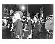 Hallowen, Leicester Square, Last Bus Home, London© Copyright Photograph by Dafydd Jones 66 Stockwell Park Rd. London SW9 0DA Tel 020 7733 0108 www.dafjones.com