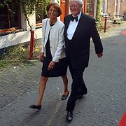 Premiere Friese Kameleonfilm Groningen, Hans Wiegel en vrouw Marianne Frederiks