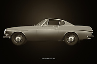 Volvo P 1800S Coupe 1961<br /> The 1961 Volvo P 1800S Coupe is the symbol of Swedish design. Volvo stands for safe driving but this Volvo makes you want to drive a little faster.<br /> Here a black and white version of the 1961 Volvo P 1800S Coupe. –<br /> <br /> BUY THIS PRINT AT<br /> <br /> FINE ART AMERICA<br /> ENGLISH<br /> https://janke.pixels.com/featured/volvo-p-1800s-coupe-1961-black-and-white-jan-keteleer.html<br /> <br /> WADM / OH MY PRINTS<br /> DUTCH / FRENCH / GERMAN<br /> https://www.werkaandemuur.nl/nl/shopwerk/Volvo-P-1800S-Coupe-1961/743803/132?mediumId=11&size=75x50<br /> <br /> -