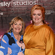 Jayde Adams and Lynne Parker attended the Red Carpet Funny Women Awards at the Bloomsbury Theatre, London on 23rd September 2021.