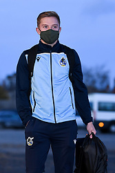 James Daly of Bristol Rovers arrives at Memorial Stadium prior to kick off - Mandatory by-line: Ryan Hiscott/JMP - 03/11/2020 - FOOTBALL - Memorial Stadium - Bristol, England - Bristol Rovers v Peterborough United - Sky Bet League One