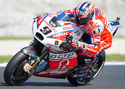 October 20, 2017 - Melbourne, Victoria, Australia - Italian rider Danilo Petrucci (#9) of OCTO Pramac Racing in action during the second free practice session at the 2017 Australian MotoGP at Phillip Island, Australia. (Credit Image: © Theo Karanikos via ZUMA Wire)