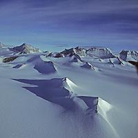 ANTARCTICA. Northern Ellsworth Mountains, highest range on the continent.