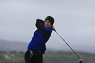 Eoin Prendergast (Claremorris) on the 6th tee during Round 3 of the Ulster Boys Championship at Donegal Golf Club, Murvagh, Donegal, Co Donegal on Friday 26th April 2019.<br /> Picture:  Thos Caffrey / www.golffile.ie