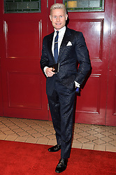 © Licensed to London News Pictures. 08/03/2016. RHYDIAN ROBERTS attends the Motown The Musical press night. Motown hits featured in the production include Dancing In The Street, I Heard It Through The Grapevine and My Girl. London, UK. Photo credit: Ray Tang/LNP