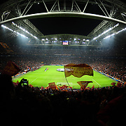 Galatasaray's and Real Madrid's during their UEFA Champions League Quarter-finals, Second leg match Galatasaray between Real Madrid at the TT Arena AliSamiYen Spor Kompleksi in Istanbul, Turkey on Tuesday 09 April 2013. Photo by Aykut AKICI/TURKPIX
