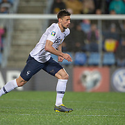 ANDORRA LA VELLA, ANDORRA. June 1. Clement Lenglet #19 of France in action during the Andorra V France 2020 European Championship Qualifying, Group H match at the Estadi Nacional d'Andorra on June 11th 2019 in Andorra (Photo by Tim Clayton/Corbis via Getty Images)