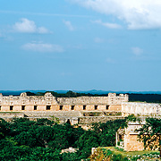 Uxmal # 5            Nuns Quadrangle Mayan Ruins of Uxmal.