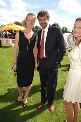 Actor ALEXANDER SIDDIG and LORIEN HAYNES at the final of the Veuve Clicquot Gold Cup 2007 at Cowdray Park, West Sussex on 22nd July 2007.<br /><br />NON EXCLUSIVE - WORLD RIGHTS