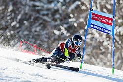 Eemeli Pirinen (FIN) competes during 9th Men's Giant Slalom race of FIS Alpine Ski World Cup 55th Vitranc Cup 2016, on March 4, 2016 in Kranjska Gora, Slovenia. Photo by Vid Ponikvar / Sportida