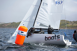 Day one of the Silvers Marine Scottish Series 2015, the largest sailing event in Scotland organised by the  Clyde Cruising Club<br /> Racing on Loch Fyne from 22rd-24th May 2015<br /> <br /> GBR857, boats.com, Ian Atkins, Hillhead SC, Ruairidh Scott<br /> <br /> <br /> Credit : Marc Turner / CCC<br /> For further information contact<br /> Iain Hurrel<br /> Mobile : 07766 116451<br /> Email : info@marine.blast.com<br /> <br /> For a full list of Silvers Marine Scottish Series sponsors visit http://www.clyde.org/scottish-series/sponsors/