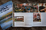 One of the final images in print in Mount Washington Valley Vibe Magazine. A photo shoot for an article on Craft Brew in New Hampshire and Maine. Photographed in my photo studio in Biddeford, Maine