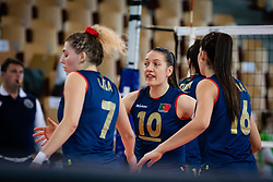 HURST Marta of Portugal national team during volleyball match between Slovenia and Portugal in CEV Volleyball European Silver League 2021, on 12 of June, 2021 in Dvorana Ljudski Vrt, Maribor, Slovenia. Photo by Blaž Weindorfer / Sportida