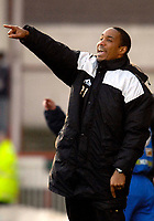 Photo: Alan Crowhurst.<br />Swindon Town v Macclesfield Town. Coca Cola League 2. 27/01/2007. Macclesfield coach Paul Ince.