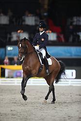 Carvalho Goncalo, (POR), Batuta<br /> Grand Prix Dressage<br /> Stuttgart - German Masters 2015<br /> © Hippo Foto - Stefan Lafrentz