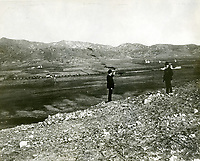 1895 Panorama of Hollywood looking south from Olive Hill, now Barnsdall Park