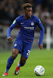 Chelsea's Callum Hudson-Odoi during the Carabao Cup, semi final match at Wembley, London.