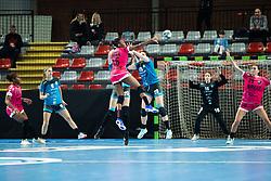 Niakate Kalidiatou of Brest Bretagne during handball match between RK Krim Mercator and Brest Bretagne Handball in 2nd main round of Women's DELO EHF Champions League 2019/20, on February 2, 2020 in Kodeljevo, Ljubljana,  Slovenia. Photo Grega Valancic / Sportida
