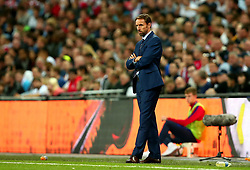 England Manager Gareth Southgate looks on - Mandatory by-line: Robbie Stephenson/JMP - 04/09/2017 - FOOTBALL - Wembley Stadium - London, United Kingdom - England v Slovakia - 2018 FIFA World Cup Qualifier