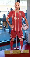 2016.07.23 Bialystok Pilka nozna Final FC Bayern Youth Cup 2018 na Stadionie Miejskim N/z tekturowa postac Arjena Robbena fot Michal Kosc / AGENCJA WSCHOD