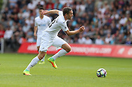 Gylfi Sigurdsson of Swansea city in action. Premier league match, Swansea city v Chelsea at the Liberty Stadium in Swansea, South Wales on Sunday 11th Sept 2016.<br /> pic by  Andrew Orchard, Andrew Orchard sports photography.