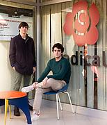 In piedi a sx Federico Longobardi (18) ; seduto a destra Filippo Giannelli Moneta (19). Sede di +Europa a Roma. | From left to right: Federico Longobardi (18) and Filippo Giannelli Moneta (19). +Europa party headquarters in Rome.