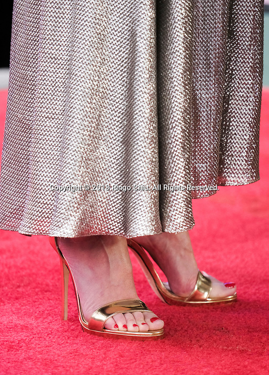 Gillian Anderson attends the ceremony honoring her with a Star on The Hollywood Walk of Fame held on January 8, 2018 in Hollywood, California.(Photo by Ringo Chiu)<br /> <br /> Usage Notes: This content is intended for editorial use only. For other uses, additional clearances may be required.