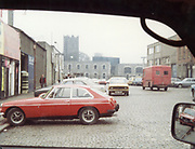 Old Dublin Amature Photos April 1984 WITH, <br /> Smithfield, Blackhall St, Kings Inns, Hill St, Temple St, Sallynoggin, R.C. Buckingham St, Chaplezord, Demolished Cottage Clonsilla, car, MG, FIAT, Commer Walk Through, opel kadet, ford escort mk1, Old amateur photos of Dublin streets churches, cars, lanes, roads, shops schools, hospitals