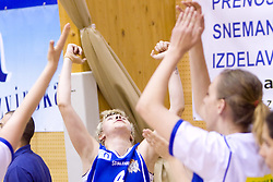 Matea Tavic of Merkur reacts at 4th final match of Slovenian women basketball 1st league between Hit Kranjska Gora and ZKK Merkur Celje, on May 13, 2010, in Arena Vitranc, Kranjska Gora, Slovenia. Celje defeated Kr. Gora 71-60 and the result after 4th match is 2-2. (Photo by Vid Ponikvar / Sportida)