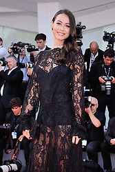 Desiree Noferini attending the Opening Ceremony and the Premiere of the movie Downsizing during the 74th Venice International Film Festival (Mostra di Venezia) at the Lido, Venice, Italy on August 30, 2017. Photo by Aurore Marechal/ABACAPRESS.COM