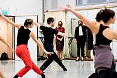 Koningin Maxima bezoekt Nederlands Dans Theater