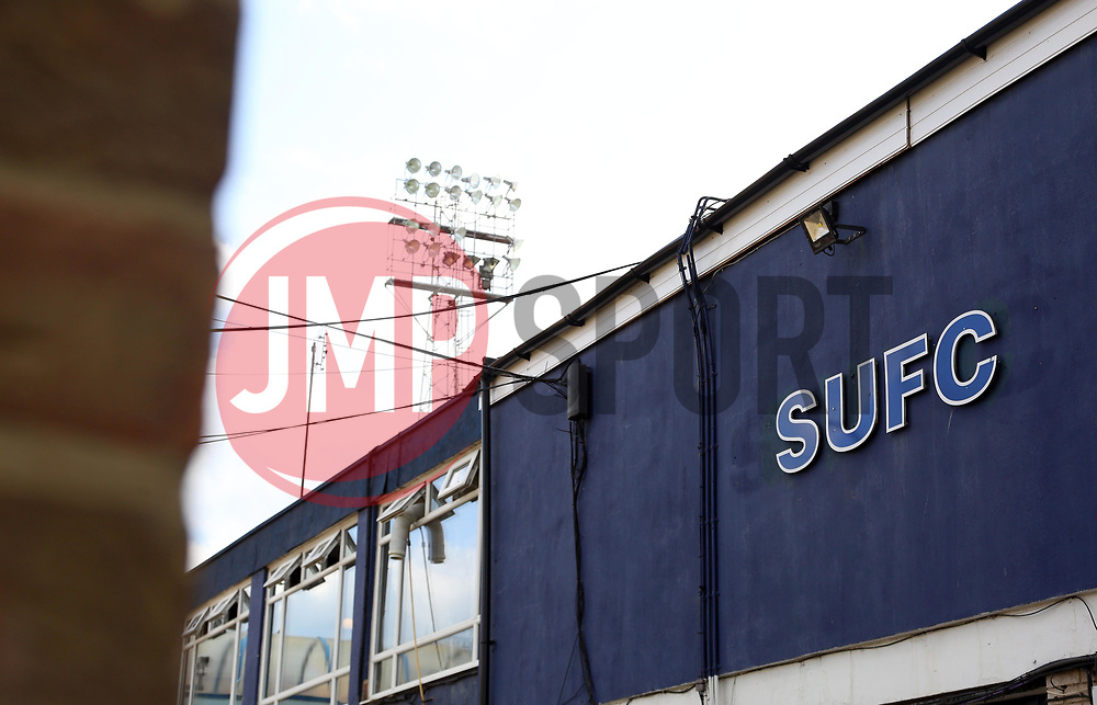 A general view of Roots Hall, home of Southend United - Mandatory by-line: Joe Dent/JMP - 20/08/2019 - FOOTBALL - Roots Hall - Southend-on-Sea, England - Southend United v Peterborough United - Sky Bet League One