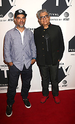 September 22, 2017 - New York, New York, U.S. - GOTHAM CHOPRA and his father DEEPAK CHOPRA attend the Religion of Sports Season Two Premiere at the TriBeCa TV Festival. (Credit Image: © Nancy Kaszerman via ZUMA Wire)