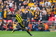 Jose Holebas (Watford) during the FA Cup semi-final match between Watford and Wolverhampton Wanderers at Wembley Stadium in London, England on 7 April 2019.