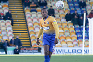 Krystian Pearce of Mansfield Town (5) during the The FA Cup match between Mansfield Town and Charlton Athletic at the One Call Stadium, Mansfield, England on 11 November 2018.