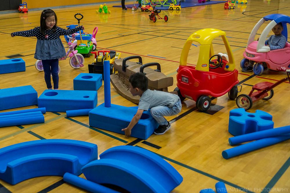 Toddler Gym, Northgate Community Center