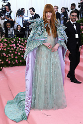 "Florence Welch at the 2019 Costume Institute Benefit Gala celebrating the opening of ""Camp: Notes on Fashion"".<br />